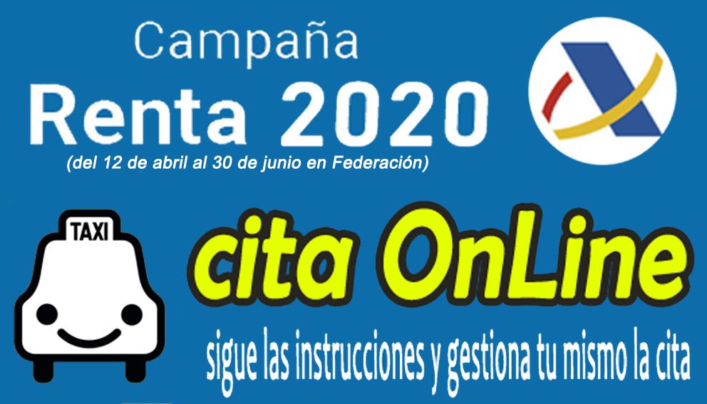 ACCESO A CITA PREVIA RENTA2020